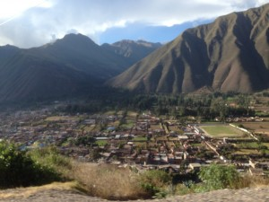 The Sacred Valley of the Incas or the Urubamba Valley.