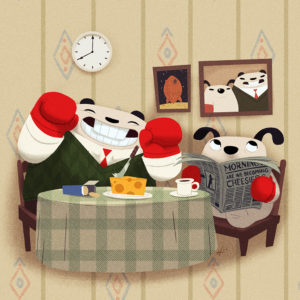 Wallace and Gromit Pandas