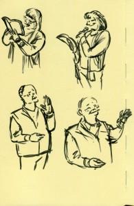 Second page of speaker gestures.
