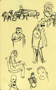 Greenlake sketches
