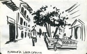 Plazoleta de Santa Cantolina.