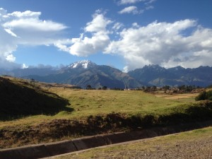On the way to the train station in Ollantaytambo.